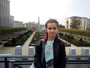 Nadia w Brukseli