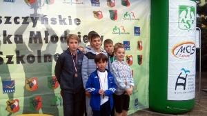 Mistrzostwa Powiatu w sztafetowych biegach przełajowych 2016_20