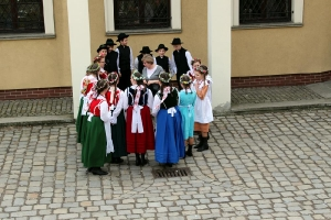 Szkolny Zespół Regionalny na występach we Wrocławiu_52
